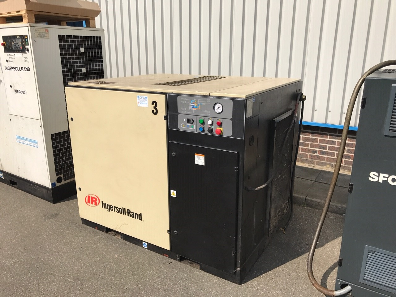 ingersoll rand used compressor for sale